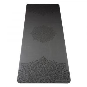 profesionální ultra protiskluzová jógová podložka Mandala Dark Night