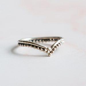 Stříbrný prsten Gypsy Girl