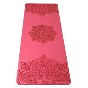 profesionální ultra protiskluzová jógová podložka Mandala Rose