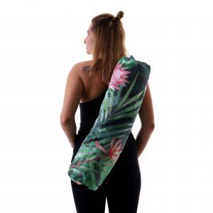 Jógová taška Monstera s pohodlným nastavitelným popruhem
