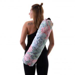 Jógová taška Just Succulents s pohodlným nastavitelným popruhem