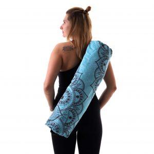 Jógová taška Mandala Deep s pohodlným nastavitelným popruhem