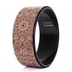 Korková kruh Mandala zvyšuje flexibilitu a otevírá hrudník, záda, ramena i kyčle