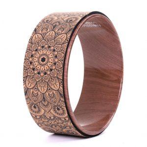 Korková kruh Mandala Boho zvyšuje flexibilitu a otevírá hrudník, záda, ramena i kyčle